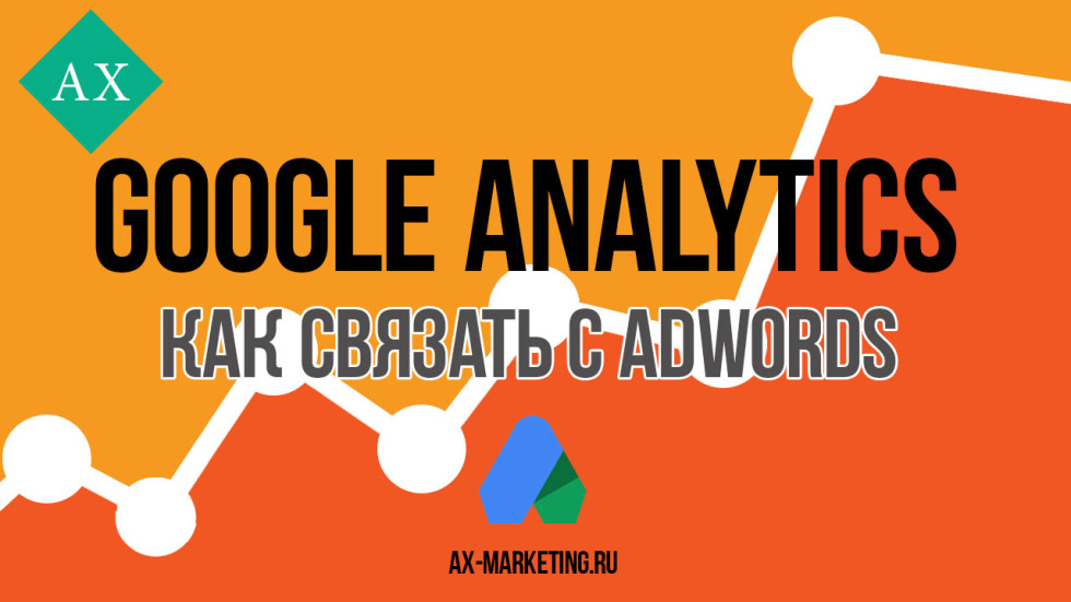 связать Google Analytics, связать Google Adwords