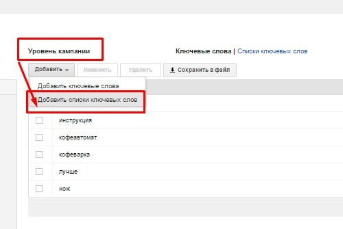 минус-слова google adwords, минус слова гугла адвордс